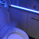 Boeing Seeks Patent for UV, Germ-Zapping Lavatory