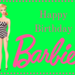 Happy birthday barbie