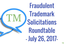 trademark fraud