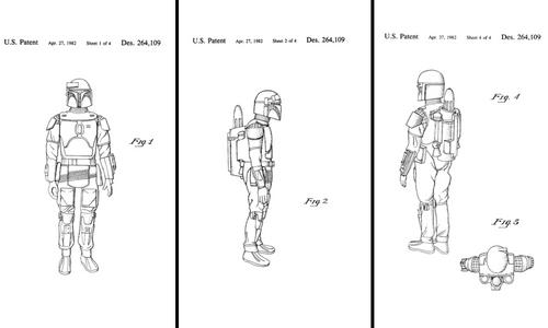 Boba Fett Patent